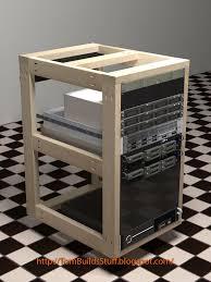Home Network Closet Design by Diy Server Rack Plans