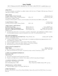 standard resume exles create college student athlete resume template gallery of exle