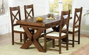 dining table wood dining table leather chairs dark tables easy
