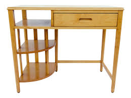 mid century hill rom maple desk chairish