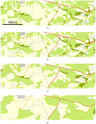 Map Scales Ijgi Free Full Text Continuous Road Network Generalization