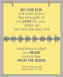 baby u0027s heartbeat sound wave art print gift for nursery shower