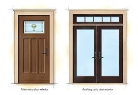 Wholesale Patio Doors Craftsman Bungalow Home Style