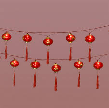 luck lanterns 16 luck lantern string lights arts crafts new