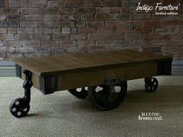 Industrial Cart Coffee Table Favorite Things Friday Industrial Cart Coffee Table