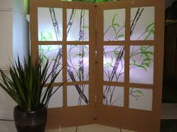cardboard shoji screen room partition 7 steps with pictures