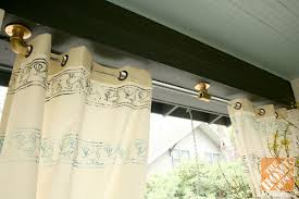 Patio Curtains Outdoor Custom Diy Curtains For Your Porch Or Patio