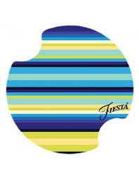 fiesta kitchen canisters fiesta cool stripe carster set of 2 canton dish barn