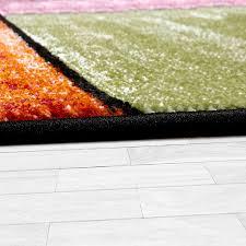 Wohnzimmer Schwarz Grun Teppich Karo Rot Schwarz Grau Grün Pink Meliert Modern Wohnzimmer