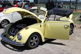 volkswagen bug yellow buggn 0803 texas vw classic