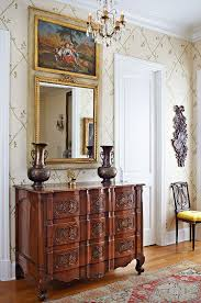 Decorating Ideas With Antiques Decorating With Mirrors Traditional Home