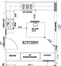 kitchen with island floor plans kitchen floor plans islands home design