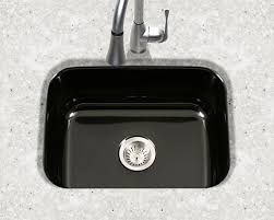 Kitchen Sink Black Houzer Porcelain Enameled Steel Kitchen Sinks