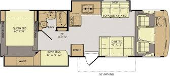 Class A Motorhome With Bunk Beds San Diego Rv Dealer Current Year Model Class A Motorhome