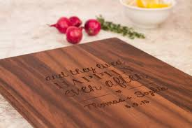 cutting board personalized handmade wooden cutting board personalized wedding gift