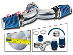2000 jeep grand exhaust system bcp blue 99 04 jeep grand 4 7l v8 dual air intake