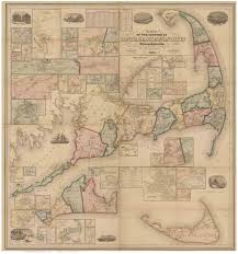 old maps of cape cod and the islands