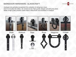 Z Barn Glasscraft Z Barn Door Knotty Alder Z Barn Door At Doors4home Com