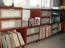 Vinyl Record Bookcase Stackable Ikea Vinyl Record Storage Shelving Units Home U0026 Decor