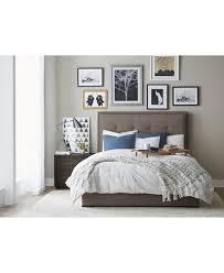 casey upholstered bedroom furniture collection furniture macy u0027s
