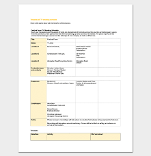production schedule template 8 for pdf word doc u0026 excel