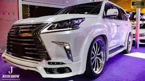 lexus lx 570 for sale japan 4k mz speed zeus luv line lexus lx570 osaka auto messe 2017