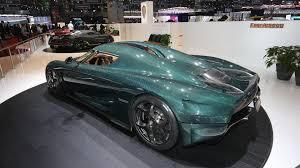gold koenigsegg koenigsegg puts its horsepower on display in geneva