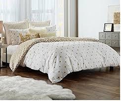 Polka Dot Bed Set Polka Dots Print Gold Glam Xl Comforter Set