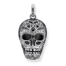 skull pendant necklace images Thomas sabo maori skull pendant necklaces pendants from ellie jpg