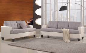 Sofa Set Laura S Modern Linen Living Room Sofa Set Sofamania Com