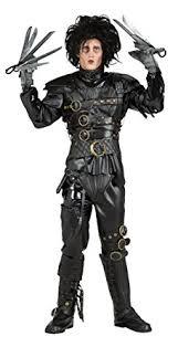 edward scissorhands costume black standard clothing