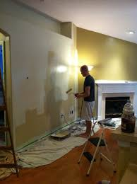 painting a living room two colors house design and planning