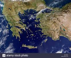 Greece Turkey Map by Greece Map Stock Photos U0026 Greece Map Stock Images Alamy