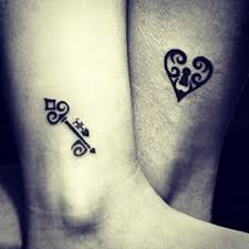 25 best small key tattoos for images on small key