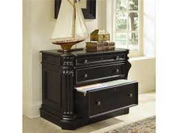Two Drawer Lateral File Cabinet by Hooker Furniture Telluride 2 Drawer Locking Lateral File Cabinet