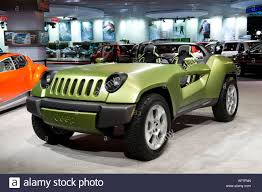 Jeep Renegade Diesel Hybrid Concept Car At The 2008 North American