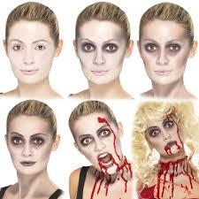 Skeleton Halloween Face Makeup by Halloween Make Up U2013 Vampire Ghost Skeleton Zombie Fancy Dress Face
