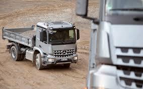 mercedes truck mercedes benz arocs truck news acurazine acura enthusiast