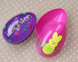 personalized easter personalized easter eggs etsy