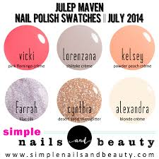 julep maven unboxing july 2014 simple nails and beauty