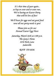 invitation greetings most popular easter invitation wording ideas and sles