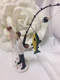 fishing wedding cake toppers cheap cake toppers wedding wedding corners