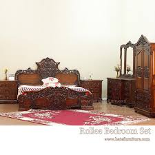 rollee bedroom set indonesian french furniture teak outdoor