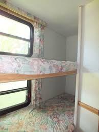 bunk beds in prowler camper remodel ideas pinterest bunk bed