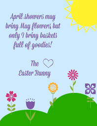 free easter printables notes from the easter bunny