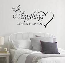 rock your walls with music wall decals by eydecals anything could happen wall decal