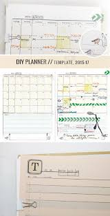 printable planner january 2015 make your own awesome planner yeah diyplanner planner template