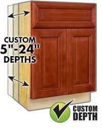 Kitchen Cabinet Depth Best Kitchen Cabinet Doors Discount Rta Bathroom Cabinets New York