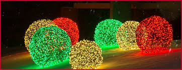 lighted balls outdoor modern looks outside