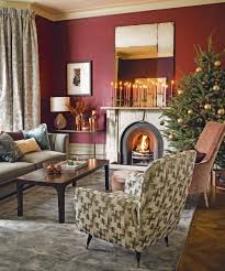 christmas decorated home simple homes christmas decorated living room simple house